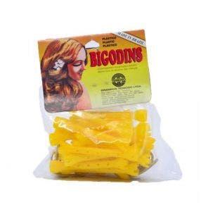 Bigodim Teimoso Plástico N.2 c/20un