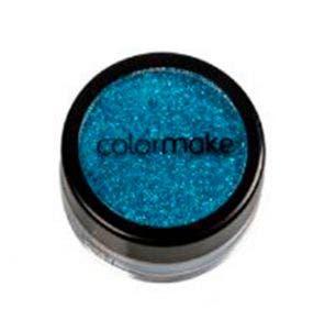 Blush Colormake Glitter Cremoso Azul 5Gr