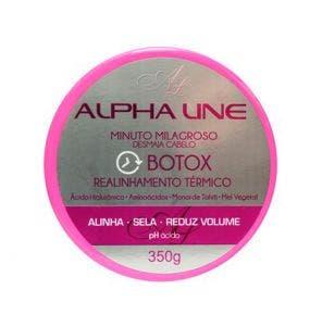 Botox Alpha Line Minuto Milagroso Desmaia Cabelo 350g