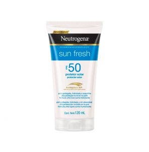 Bronzeador Netrogena Sun Fresh FPS 50 120ml