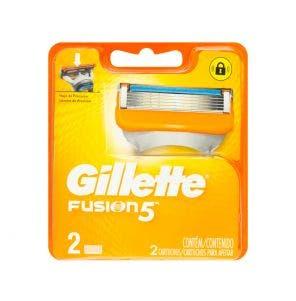 Carga Gillette Fusion 5 C/2Un