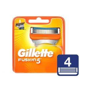 Carga Gillette Fusion 5 C/4Un
