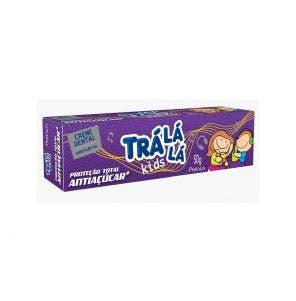 Creme Dental Infantil Tra La La Kids Anti Açúcar 50g