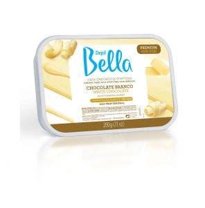 Cera Depilatória Depil Bella Chocolate Branco 200g