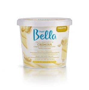 Cera Depilatoria De Microondas Depil Bella Chocolate Branco 200G