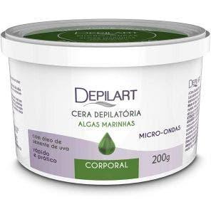 Cera Depilatoria De Microondas Depilart Algas 200G