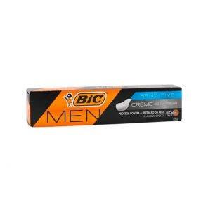 Creme De Barbear Bic Sensitive 65g
