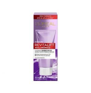 Creme Facial L'Oréal Revitalift Hialurônico Diurno Fps20 25g