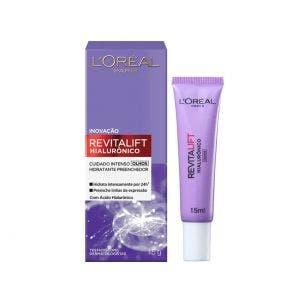 Creme Facial L'Oréal Revitalift Hialurônico Olhos 15ml