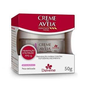Creme Facial Aveia Davene Hipoalergeni Fps15 50g