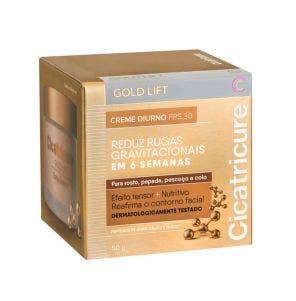 Creme Hidratante Facial Cicatricure Gold Lift Dia 50g