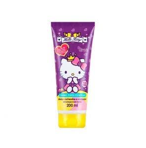 Creme para Pentear Infantil Hello Kitty Cacheados E Ond 200ml