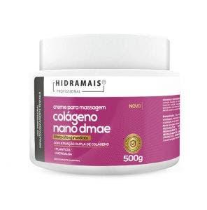 Creme De Massagem Corporal Hidramais Colágeno Nano Dmae 500gr