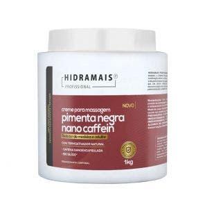 Creme De Massagem Corporal Pimenta Negra Nanocaffein 1kg