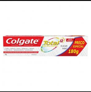 Creme Dental Colgate Total 12 Clin Mint 180gr