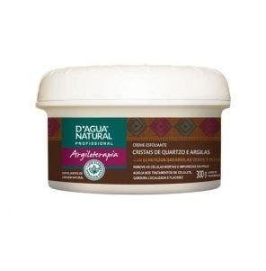 Creme Esfoliante D Água Natural Quartzo E Argilas 300gr