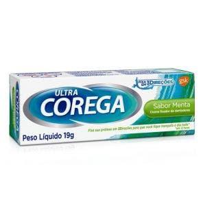 Creme Fixador Corega Ultra Menta 19G 51967