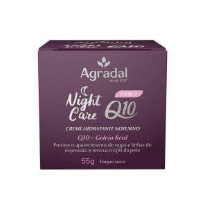 Creme Hidratante Facial Agradal Q10 Night Care 55gr
