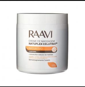 Creme Massagem Raavi Natuplex Celutrat 500gr Pa0448