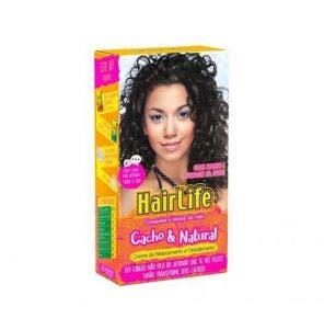 Creme Alisante Hair Life Cacho E Natural Com Manteiga Karite 180G