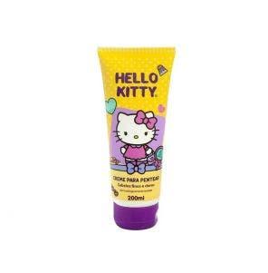Creme De Pentear Infantil Hello Kitty Finos E Claros 200ml