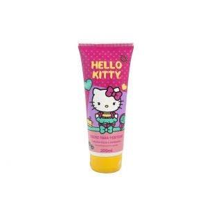 Creme De Pentear Infantil Hello Kitty Lisos E Delicados 200ml