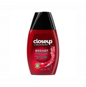 Creme Dental Close Up Liquifresh Fluor Red 100G