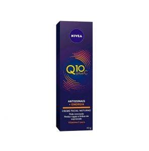 Creme Hidratante Facial Nivea Antissinais Q10 Plus C Noturno 40Ml