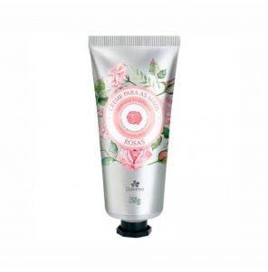 Creme Hidratante Para Maos Davene Rosas 65G