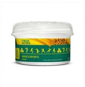 Creme Para Massagem D Agua Natural Arnica Sports 300G