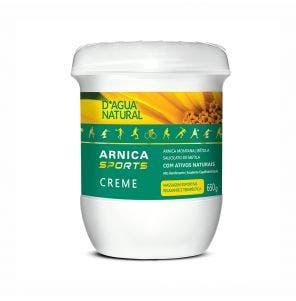 Creme Para Massagem D Agua Natural Arnica Sports 650G