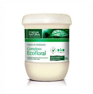 Creme Para Massagem D Agua Natural Ecofloral 650G