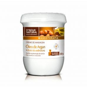 Creme Para Massagem D Agua Natural Oleo De Argan 650G
