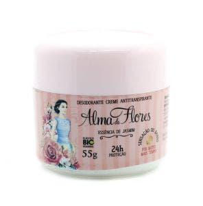 Desodorante Creme Alma De Flores Essencia De Jasmin 55g