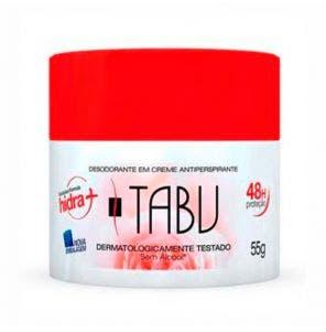 Desodorante Creme Tabu 55g