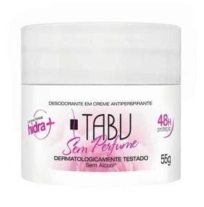 Desodorante Creme Tabu Neutro 55gr