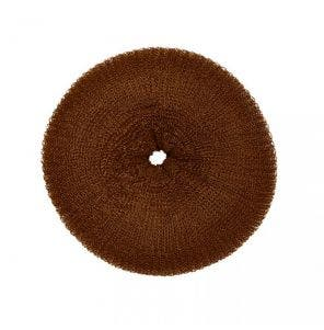 Donut De Cabelo Santa Clara Luxo Pequeno Marrom