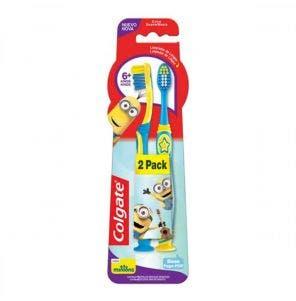 Escova Dental Colgate Minions C/2 Unidades