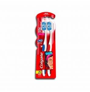 Escova Dental Colgate 360 Graus Luminous White Macia Lv2 Pg1