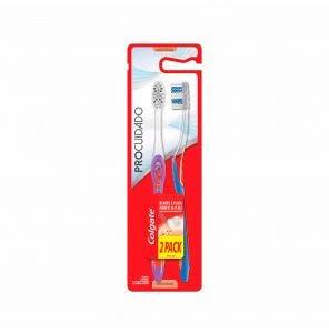 Escova Dental Colgate Pro Cuidado C/2Un