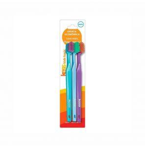 Escova Dental Kess Super Combo C/3Un