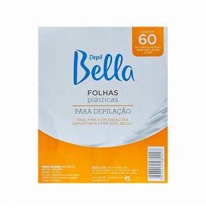 Folhas Plasticas Para Depilacao Depil Bella 60Fls