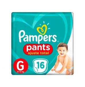 Fralda Pampers Pants G Com 16