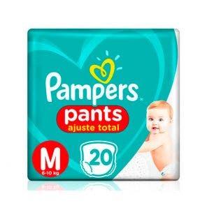 Fralda Pampers Pants M Com 20un