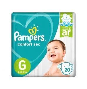 Fralda Pampers Total Confort Econômica G C/20Un