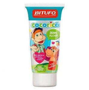 Gel Dental Bitufo Cocoricó Morango 90g