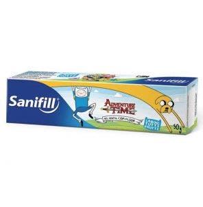 Gel Dental Infantil Sanifill Kids c/Fluor 50g