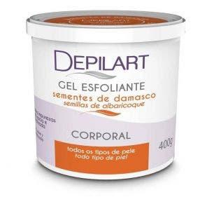Gel Esfoliante Corporal Depilart Sementes De Damasco 400gr