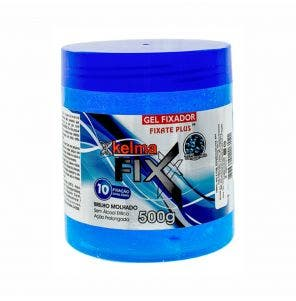 Gel Fixador Kelma Azul 500G