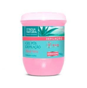 Gel Pos Depilatorio D Agua Natural Aloe Vera 750G